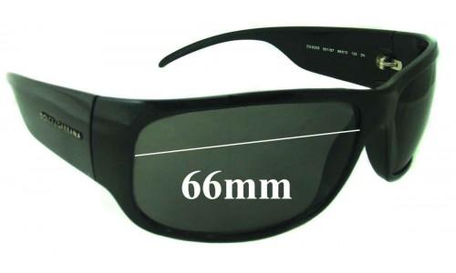 Dolce & Gabbana DG6005 Replacement Sunglass Lenses - 66mm Wide
