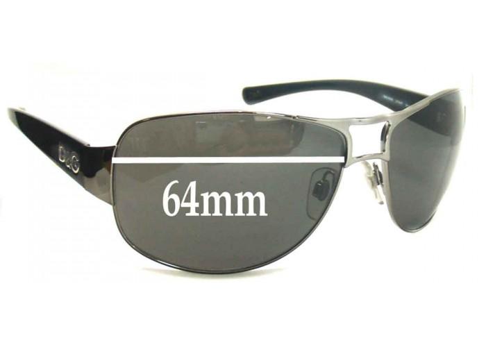 SFX Replacement Sunglass Lenses fits Dolce /& Gabbana DG6015 60mm Wide
