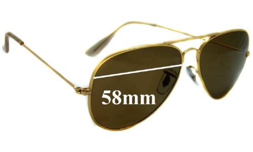 d3541164e0e Rayban 3423 001 Lenses Replacement