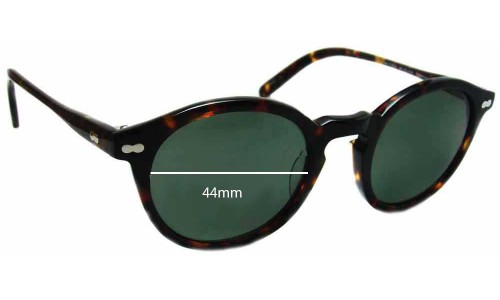 Moscot Miltzen Replacement Sunglass Lenses - 46mm wide