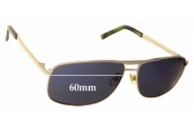 5th Avenue 9004 Replacement Sunglass Lenses - 60mm wide