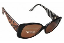 Alex Perry AP SunRx 21 Replacement Sunglass Lenses - 57mm Wide