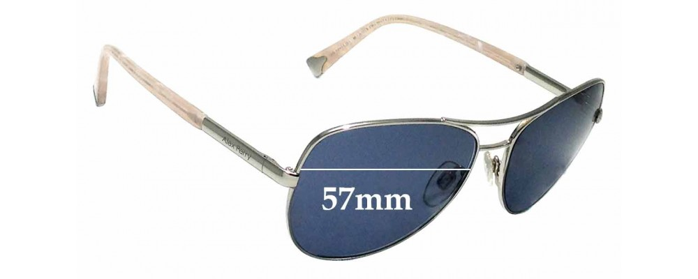 Sunglass Fix Replacement Lenses for Alex Perry AP SunRx 25 - 57mm Wide