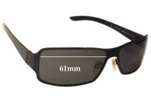 Alexander Mqueen AMQ 4023/S Replacement Sunglass Lenses - 61mm wide