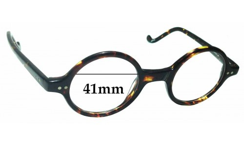 Sunglass Fix Replacement Lenses for Allyn Scura Farnsworth 046 - 41mm Wide