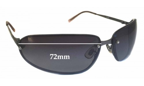 Alta Linea AL65b Replacement Sunglass Lenses - 72mm Wide