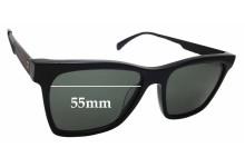 Sunglass Fix Replacement Lenses for AM Eyewear Bondi Tony - 55mm wide