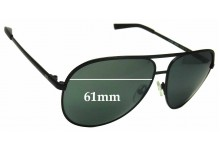 Sunglass Fix Replacement Lenses for Armani Exchange AX2002 - 61mm Wide