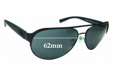 Sunglass Fix Replacement Lenses for Armani Exchange AX2015S - 62mm wide