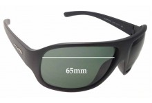 Arnette Alter Ego AN4125 Replacement Sunglass Lenses - 65mm wide