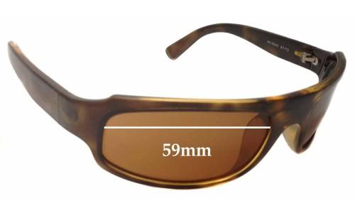Arnette AN4042 Replacement Sunglass Lenses- 59mm Wide