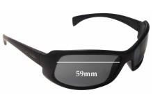 Sunglass Fix New Replacement Lenses for Arnette AN4044 - 59mm Wide