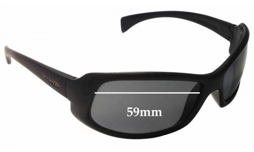 Arnette AN4044 Replacement Sunglass Lenses - 59mm wide