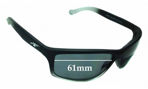 Arnette Boiler AN4207 Replacement Sunglass Lenses - 61mm wide