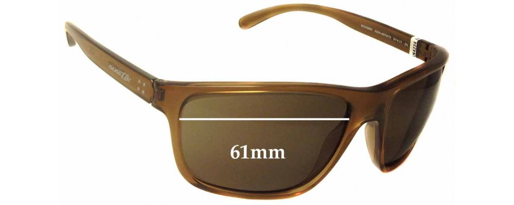 Arnette Booger AN4234 Replacement Sunglass Lenses - 61mm wide