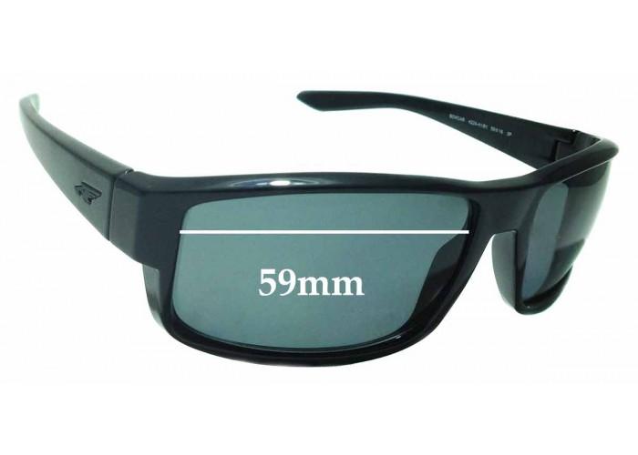 SFX Replacement Sunglass Lenses fits Arnette Smokey AN3068 60mm Wide
