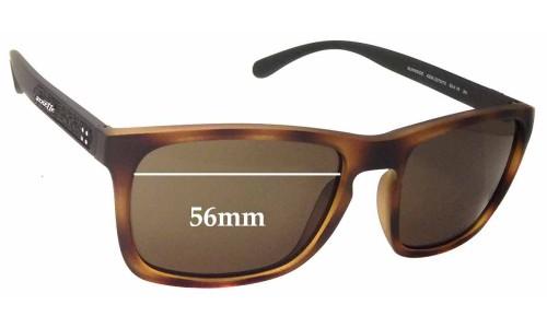 Arnette Burnside AN4236 Replacement Sunglass Lenses - 56mm wide