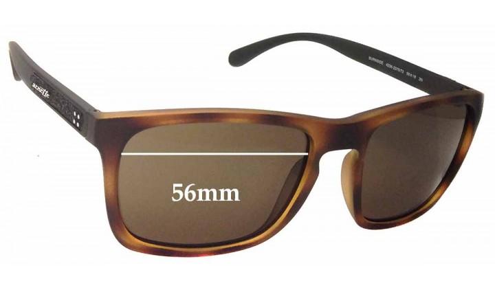 SFX Replacement Sunglass Lenses fits Arnette Burnside AN4236 56mm Wide