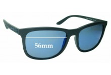 Sunglass Fix Replacement Lenses for Arnette Chenga AN4240 - 56mm wide
