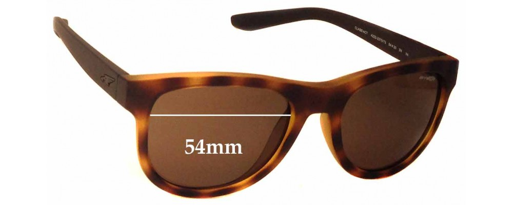 Arnette Class Act AN4222 Replacement Sunglass Lenses - 54mm wide