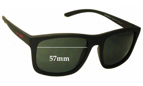 Arnette Complementary AN4233 Replacement Sunglass Lenses - 57mm Wide