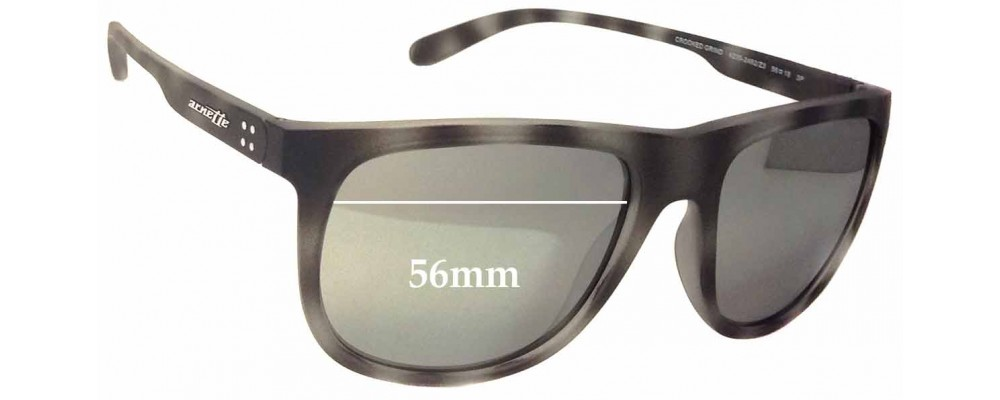 d5ea1e9146 Arnette Crooked Grind AN4235 Replacement Lenses 56mm by The Sunglass ...