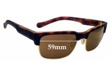 Sunglass Fix Replacement Lenses for Arnette Dean 4205 - 59mm wide