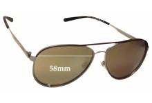 Arnette Dweet AN3071 Replacement Sunglass Lenses - 58mm Wide