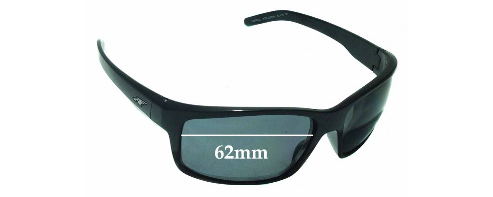 Arnette Fastball AN4202 Replacement Sunglass Lenses - 62mm wide