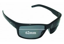 Sunglass Fix New Replacement Lenses for Arnette Fastball AN4202 - 62mm Wide