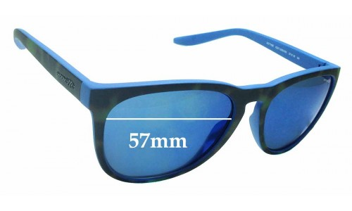 Sunglass Fix Replacement Lenses for Arnette Go Time 4227 - 57mm Wide