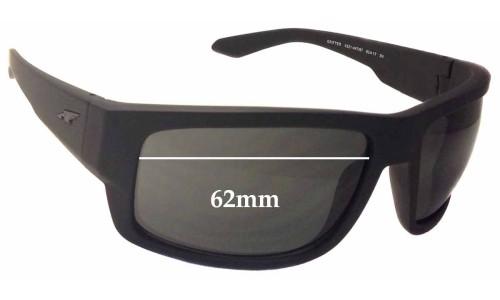 Arnette Grifter AN4221 Replacement Sunglass Lenses - 62mm wide