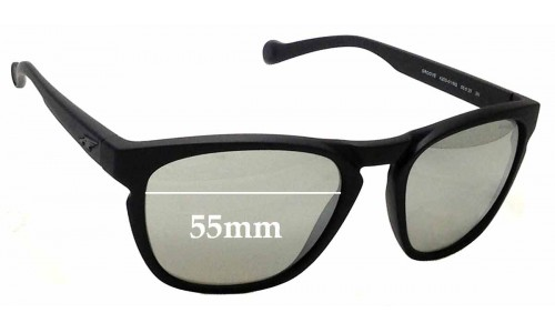 Sunglass Fix Replacement Lenses for Arnette Groove 4203 - 55mm wide