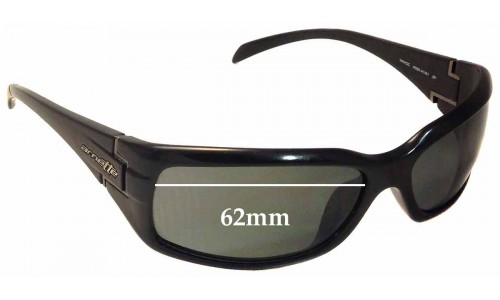 Arnette Havoc AN4099 Replacement Sunglass Lenses - 62mm Wide