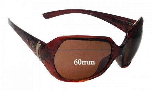 Arnette Heavenly AN4093 Replacement Sunglass Lenses - 60mm wide