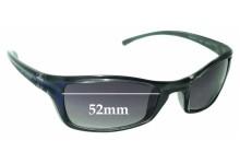 Sunglass Fix Replacement Lenses for Arnette IRONFIST 4031 - 52mm wide
