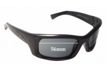 Arnette Mastermind AN4052 Replacement Sunglass Lenses - 56mm wide