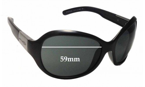 Arnette Mystique AN4117 Replacement Sunglass Lenses - 59mm Wide
