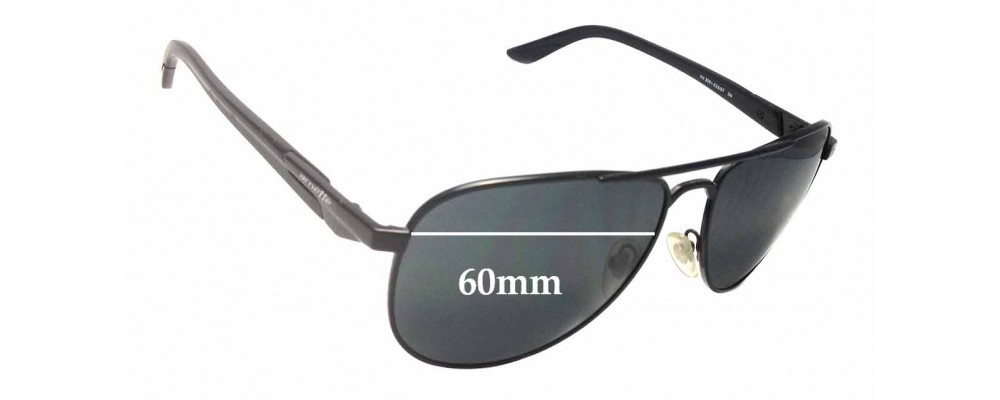 Arnette One Time AN3061 Replacement Sunglass Lenses - 60mm Wide