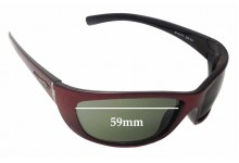 Arnette Player AN4073 Replacement Sunglass Lenses - 59mm Wide