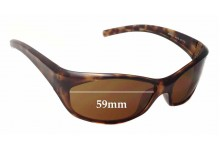 Arnette Ripper AN4019 Replacement Sunglass Lenses - 59mm Wide