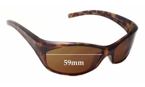 Sunglass Fix Replacement Lenses for Arnette Ripper AN4019 - 59mm Wide