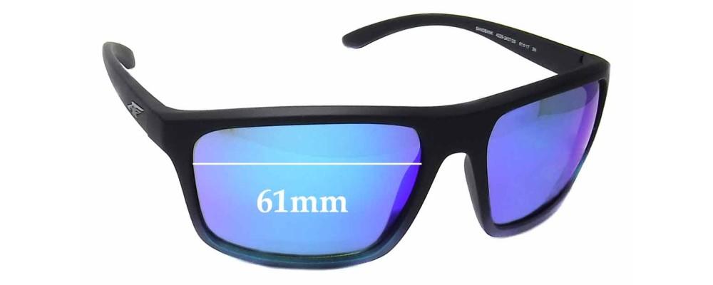 Arnette Sandbank AN4229 Replacement Sunglass Lenses - 61mm Wide