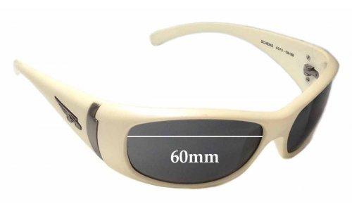 Arnette Scheme AN4075 Replacement Sunglass Lenses - 60mm wide
