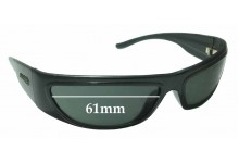 Arnette Signature Replacement Sunglass Lenses - 61mm wide x 31mm tall