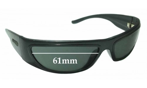 Arnette Signature Replacement Sunglass Lenses - 61mm wide x 31mm tall