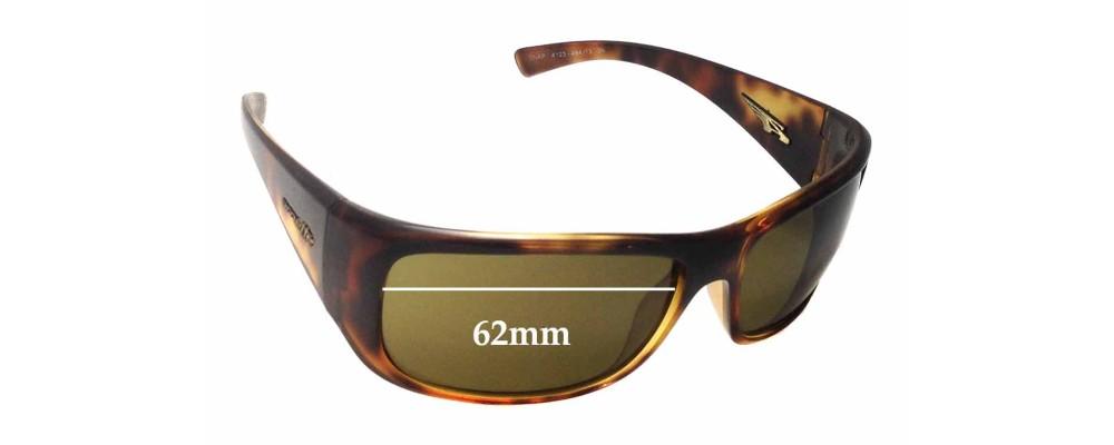 Arnette Snap AN4123 Replacement Sunglass Lenses - Lens Width 62mm