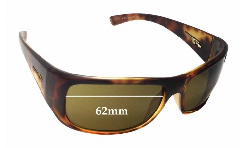 Arnette Snap AN4123 Replacement Sunglass Lenses - Lens Width 62mm