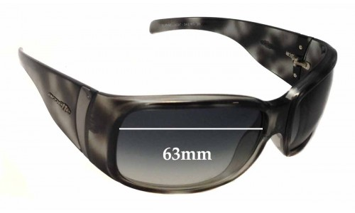 Arnette Surge AN4097 Replacement Sunglass Lenses - 63mm wide