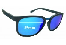 Sunglass Fix Replacement Lenses for Arnette Tigard AN4238 - 55mm wide